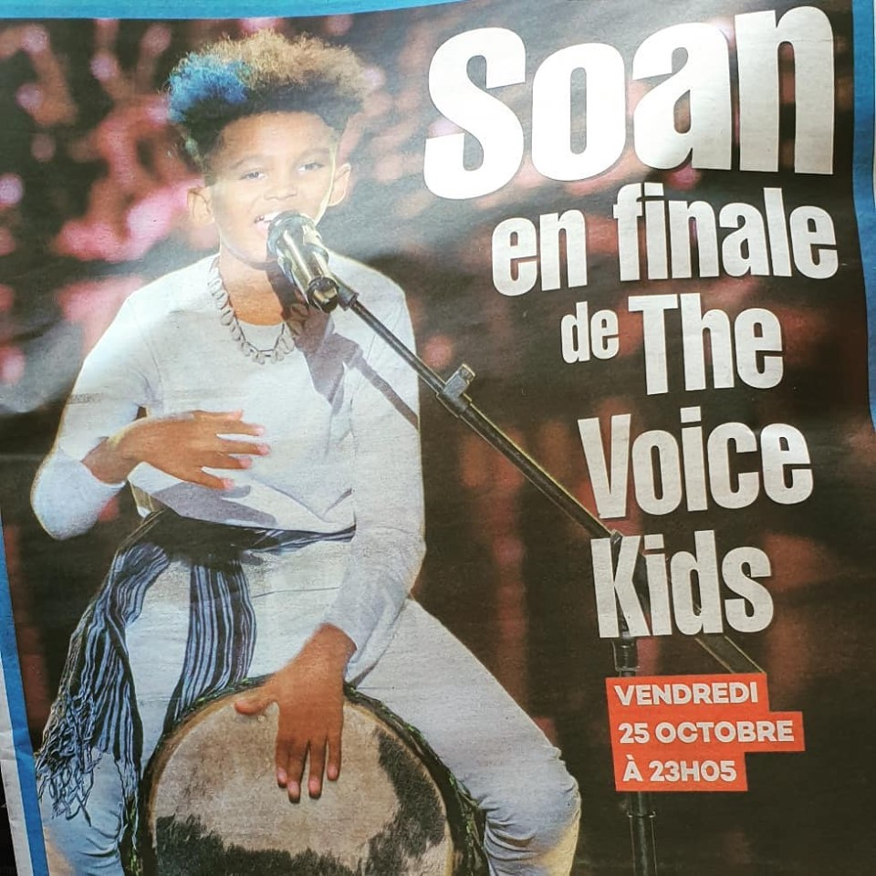 Soan remporte The Voice Kids 2019