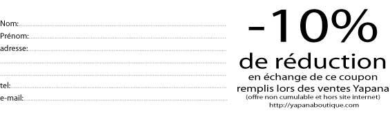 D fil de mode de la ligne yapana au moda bar saint - Bon de reduction delamaison ...