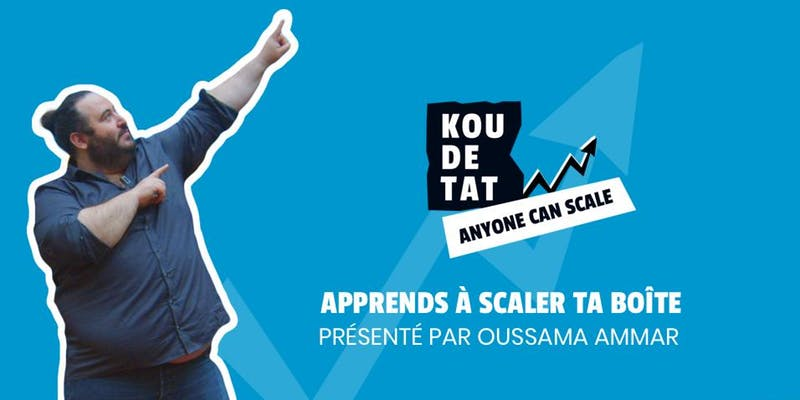 Programme « Anyone can Scale » le 26/11 à Sainte-Marie