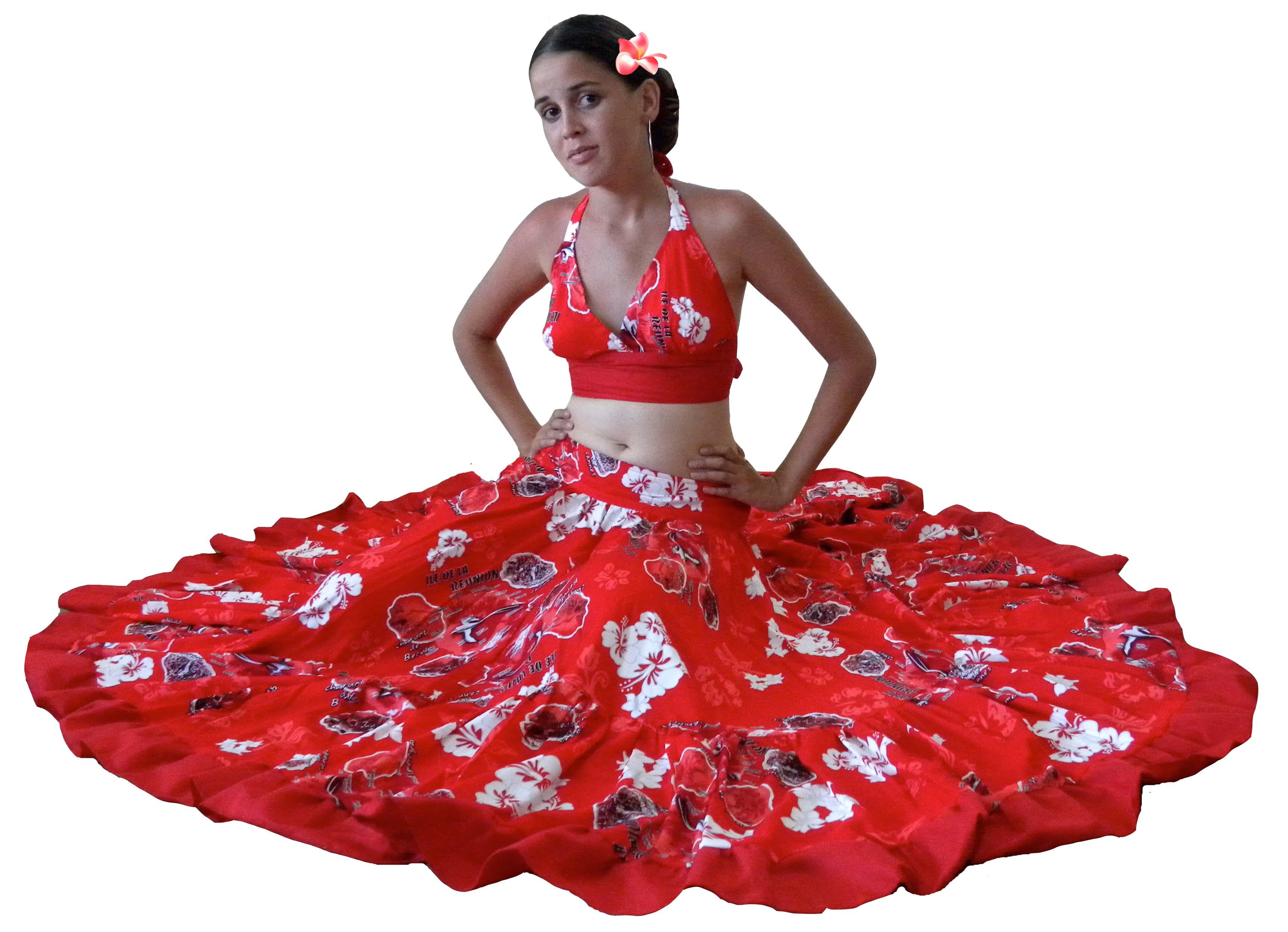 Les tenues traditionnelles de la Réunion