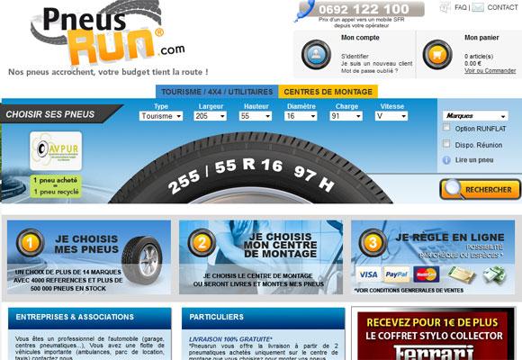 pneusrun lance son site internet de vente en ligne de pneus la r union. Black Bedroom Furniture Sets. Home Design Ideas