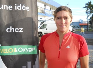 Sabine Nativel s'attaque au Tour de France cyclotouriste international