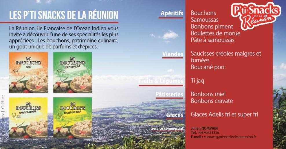 sortie en ligne couleurs et frappant design professionnel Les nouveautés P'ti Snacks de la Réunion disponibles en ...